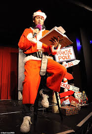 doctor z david tennant plays zombie clause in christmas panto