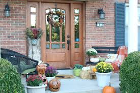 Fall Patio Fall Front Porch And Garden Blog Hop My Life From Home