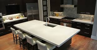 kitchen contemporary kitchen design with concrete countertops