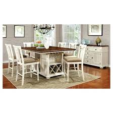 breakfast table with storage counter height tables with storage charming sun pine country storage