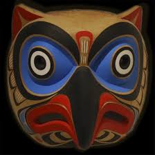 owl mask kwagiulth owl mask