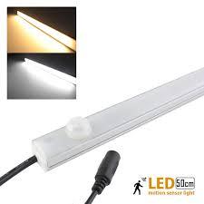 motion sensor under cabinet lighting led motion sensor light pir body detector 50cm 12v10w led kitchen