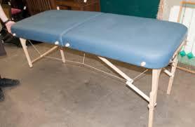 earthlite massage table bag table earthlite spirit portable massage table made of blue leather