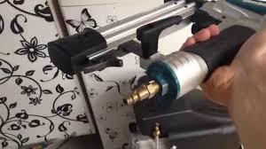 new makita 18g brad nailer af505 with 2hp compressor 6gallon youtube