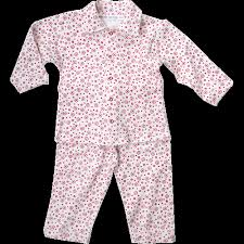 white organic flannel pajamas for baby green baby green