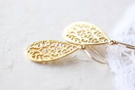 gold teardrop earrings small gold teardrop earrings simple vermeil tear drop