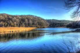 Iowa landscapes images Free stock photo of scenic river landscape at backbone state park jpg