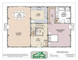 colonial floor plan impressive ideas center colonial open floor plans