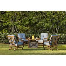 Firepit Set by 5 Piece Set With Firepit By Trisha Yearwood Home Collection By