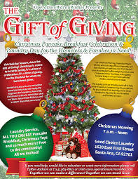 help with christmas operation warm wishes presents the gift of giving christmas