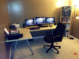 desk l desks for gaming throughout pleasant diy corner how to
