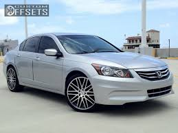 honda accord 2011 custom wheel offset 2011 honda accord nearly flush stock custom rims