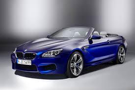 bmw m6 blue 2013 f13 blue bmw m6 convertible front 3q eurocar