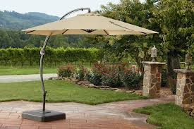Patio Offset Umbrellas Patio Umbrellas Best Solutions Of Rectangular Offset Patio