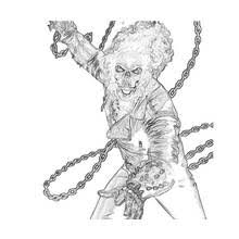 ghost rider colouring pages kids coloring pages cliff england ic