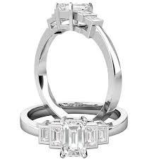 verlobungsring platin diamant deco ring verlobungsring mit diamanten fuer dame in platin mit