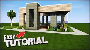 modern house minecraft 20x20 youtube
