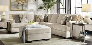 Upholstery Sectional Sofa 3 Pc Ameer Ii Collection Sand Colored Fabric Upholstered Sectional