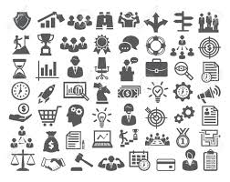design management careers business icons set icons for business management career finance