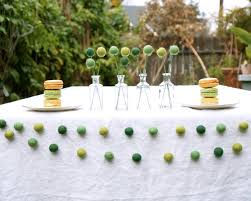 unique wedding garland decorations with wedding garland poms