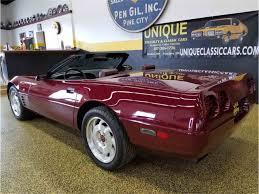 corvette specialties mn 1993 chevrolet corvette 40th anniversary convertible for sale