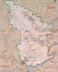 Matthiessen State Park Trail Map by Walkopedia The World U0027s Best Walks Treks And Hikes Arches