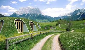 bermed earth sheltered homes hobbit home inhabitat green design innovation architecture