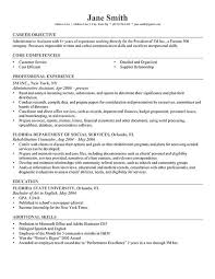objective for resume resume templates