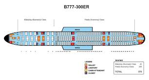 philippine airlines boeing 777 300er aircraft seating chart