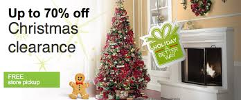 home depot black friday artifical trees sears com up to 70 off christmas clearance great deals on