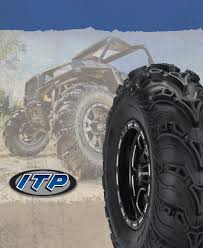 itp mud light tires itp mud lite ii tire and wheel kits mounted w center caps and lug