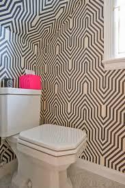 funky bathroom wallpaper ideas home chic raleigh half bath wallpaper geometric wall paper wall