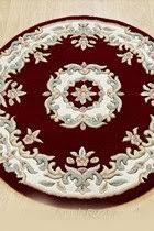 Round Red Rug Royal Aubusson Round Wool Rugs 8 Designs Apple Rugs Buy Rugs