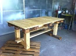 fabriquer un bureau avec des palettes fabriquer un bureau avec des palettes table palettes 3 construire