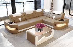 L Leather Sofa Leather Denver L Shape