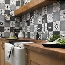 kitchen tile ideas uk wickes parian grey decor porcelain wall tile 142x142mm pack 12