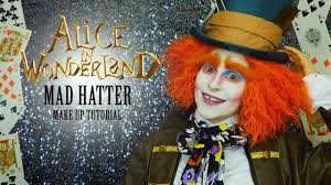 Halloween Mad Hatter Makeup by