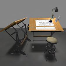 Steel Drafting Table Luna Fatale Makes Finely Crafted 100 Mesh Drafting Tables Fiery Red