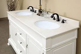 Bellaterra Home DAWHITE Bathroom Vanity Antique Double - Bella 48 inch bathroom vanity white