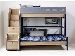 etagenbett mit schrank flexa flexa popsicle 3er etagenbett mit stauraum treppe blueberry