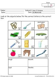 primaryleap co uk rough smooth rigid or flexible worksheet