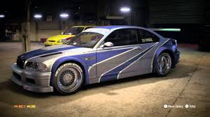 need for speed bmw need for speed deluxe edition bmw m3 e46
