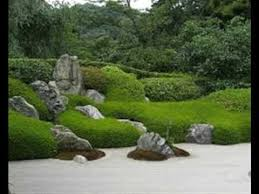the japanese rock garden 枯山水 karesansui or