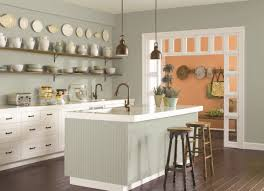 sherwin williams brown kitchen cabinets the best kitchen paint colors from classic to contemporary