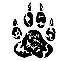 tribal wolf by of war on deviantart