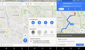 maps android maps for android gets new home screen with faster loading