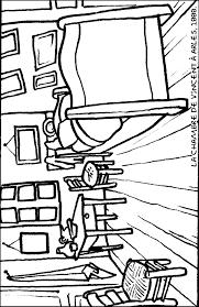 imprime et colorie la chambre de vincent à arles