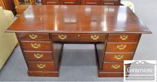 lineage cherry kneehole office desk baltimore maryland
