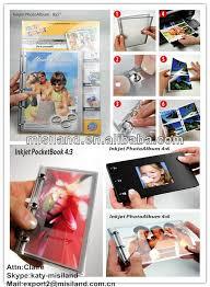 Small Photo Album 4x6 Diy Inkjet Pocket Photo Album Book 4 3 Small Digital Photo Album