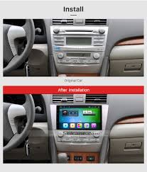 toyota camry 2007 audio system 9 inch oem android 6 0 radio capacitive touch screen for 2007 2011